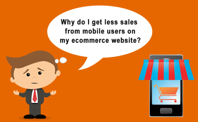 increase ecommerce sales from mobile users
