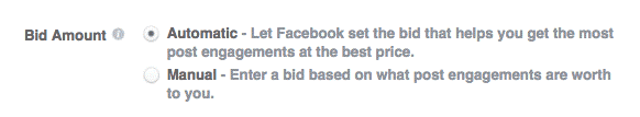 bidding cost facebook ads cost singapore