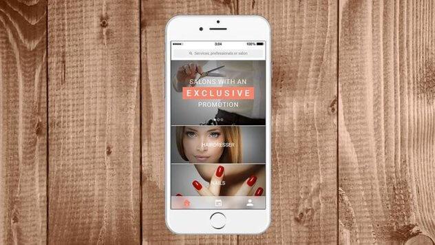 beauty salon mobile apps developer singapore