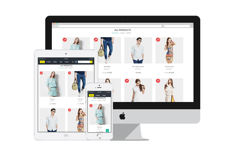 ecommerce website design singapore