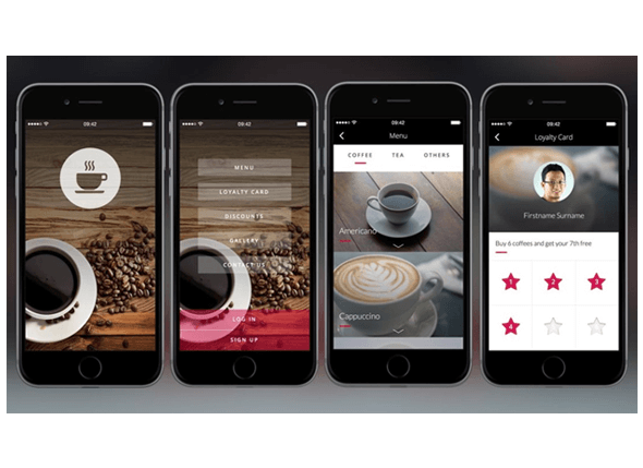 coffee shop mobile app development