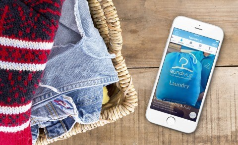 laundry mobile apps design