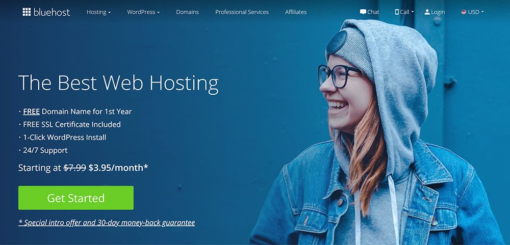 bluehost best website hosting company