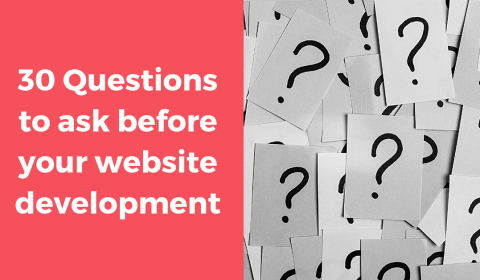 30 Questions to ask before website development